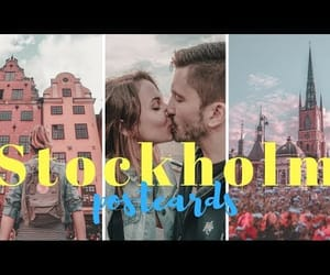 stockholm, city break, and summer holiday image