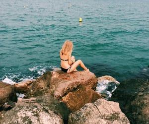 beach, life, and bikini image