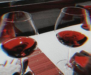 aesthetic, red, and red wine image