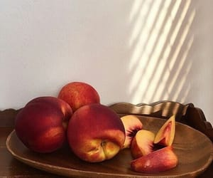 peach and sweet image