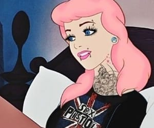 disney, cinderella, and punk image