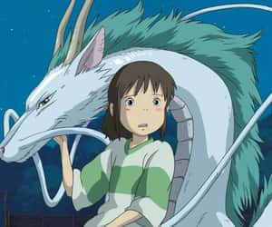 anime, spirited away, and chichiro image