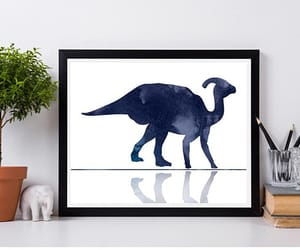 etsy, nursery, and dinosaur image