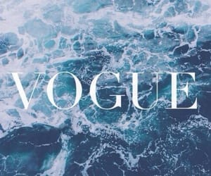 vogue, sea, and wallpaper image