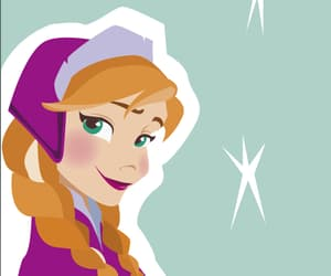 anna, background, and disney princess image