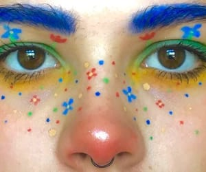 aesthetic, makeup, and colors image