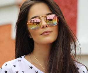 beauty, eyewear, and girl image