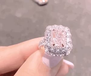 diamond, expensive, and pink image