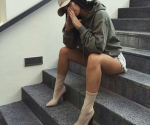 clothes, fashion, and hat image
