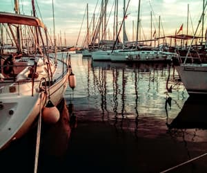 aesthetic, boats, and Greece image