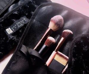aesthetics, brush, and makeup image