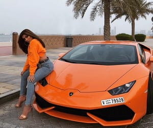 car, orange, and style image