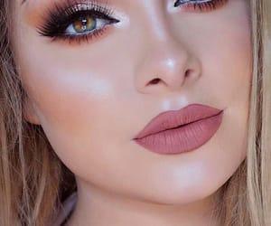 beauty, eyeshadow, and eye liner image