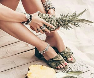 beach, happy, and bracelets image