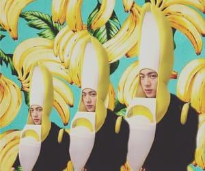 banana, jin, and キムソクジン image