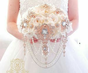 accessories, pearl, and wedding image