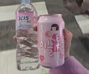 aesthetic, pink, and soda image