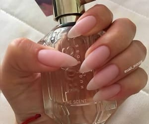long, nails, and perfume image