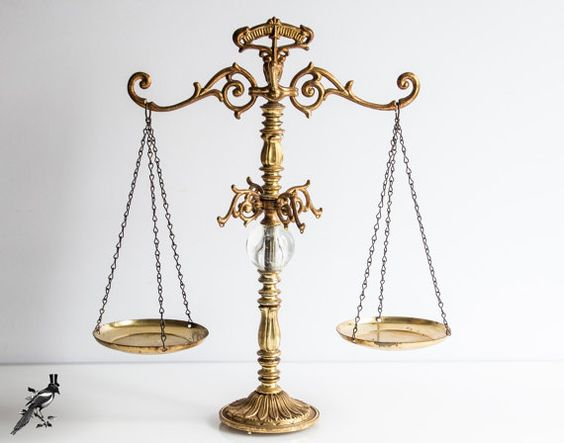 balance, justice, and classy image