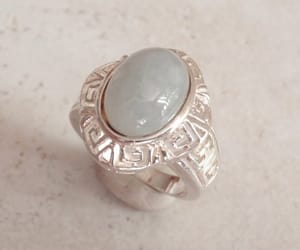 etsy, vintagering, and sterling silver image