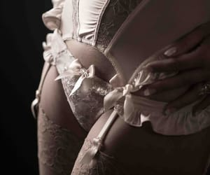 garters, lace, and lingerie image