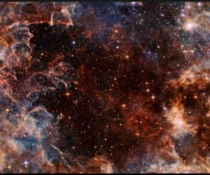 galaxy, nasa, and hubble image