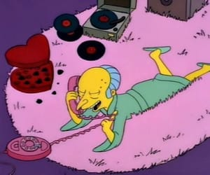 simpsons, the simpsons, and pink image