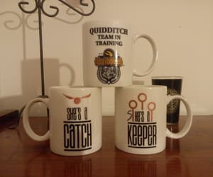 coffe, harry potter, and hp image