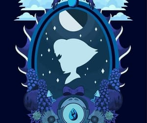 blue, mirror, and silhouette image