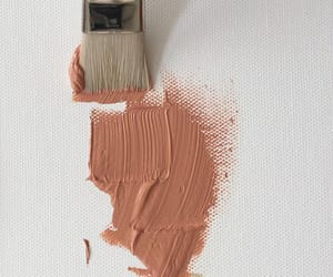 art, paint, and brown image