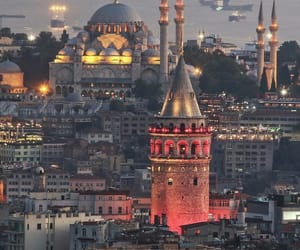 istanbul, city, and travel image