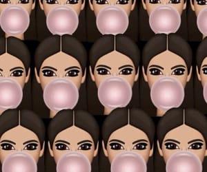 art, bubblegum, and bubbly image
