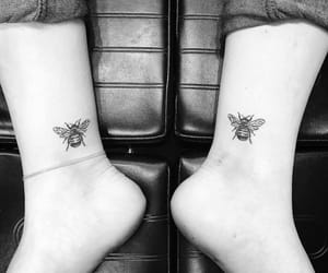 ankle, beautiful, and bee image