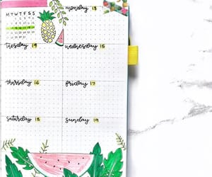 agenda, college, and journaling image