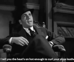 gif, Humphrey Bogart, and three on a match image