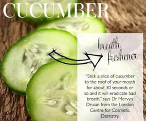 cucumber and BAD BREATH image
