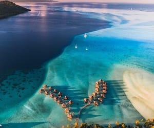 belleza, mar, and vista aerea image