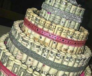 money, cake, and luxury image