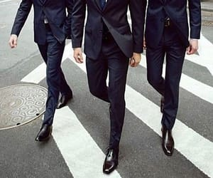 suit, men, and style image