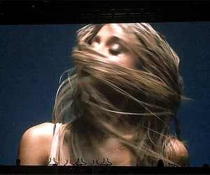 blonde, concert, and gif image