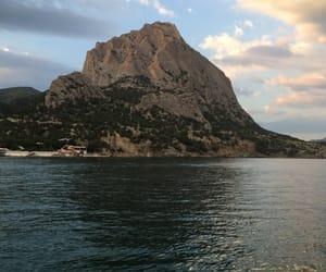 black sea, crimea, and mountain image