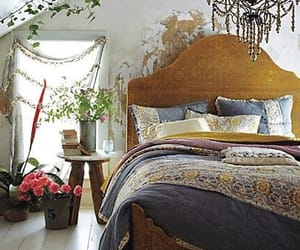 airy, bedroom, and old house image