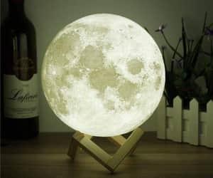 lampe, lune, and mignon image