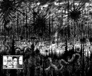 art, manga, and itou junji image