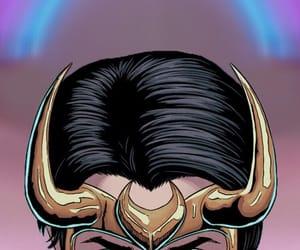 background, Marvel, and loki image