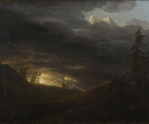 18th century, Alps, and art image
