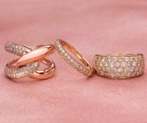 jewelry, rings, and gold image