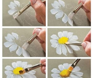 flowers, daisy, and diy image