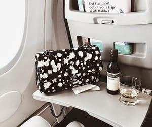 airplane, bag, and chanel image