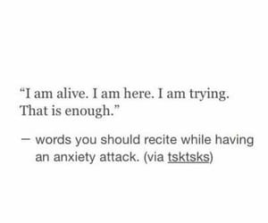 alive and anxiety image